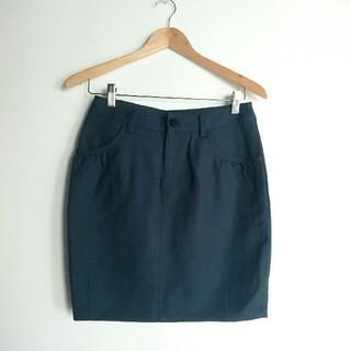 ハンキーパンキー(HANKY PANKY)のHanky-panky 深グリーン スカート(ひざ丈スカート)