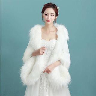 ウエディングドレス用 ボレロ 結婚式 暖かい ブライダル(ボレロ)