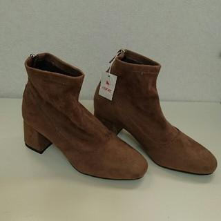 アカクラ(Akakura)のAKAKURA  スエードショートブーツ(ブーツ)