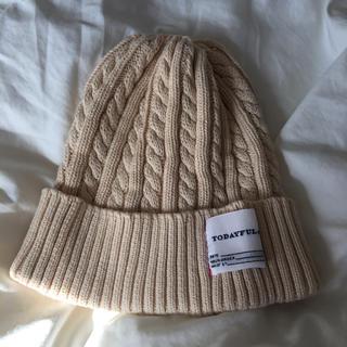 トゥデイフル(TODAYFUL)のニット帽(ニット帽/ビーニー)