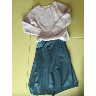 コムサコレクション(COMME ÇA COLLECTION)のK.T kiyoko takase スカート  セーター セット(ロングスカート)