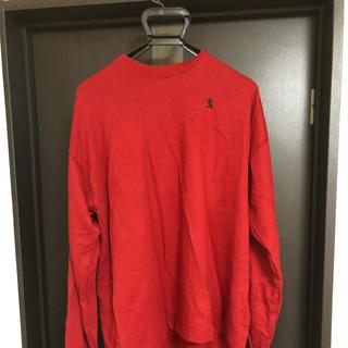 ジャンルーカジョルダーノ(Gianluca Giordano)の赤色トレーナー(Tシャツ/カットソー(七分/長袖))