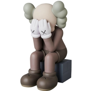 MEDICOM TOY - kaws passing through brown