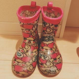 アースマジック(EARTHMAGIC)のマフィーちゃん長靴(長靴/レインシューズ)