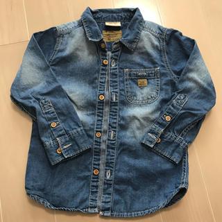 ザラ(ZARA)のZARA キッズ デニムシャツ 100cm(Tシャツ/カットソー)