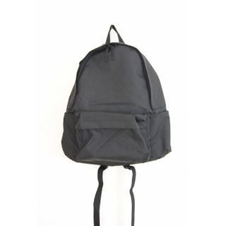 ムジルシリョウヒン(MUJI (無印良品))の未使用 無印良品 黒 肩の負担を軽くするPCポケット付リュックサック(リュック/バックパック)