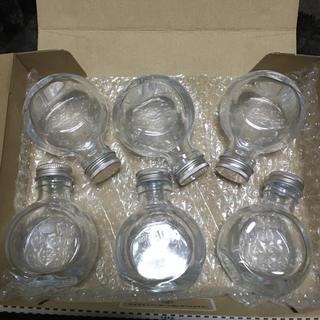 ハーバリウム 瓶 ネコ型  100mlサイズ 6本(各種パーツ)