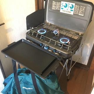 シンフジパートナー(新富士バーナー)の美品soto スリーバーナーフルセット(調理器具)