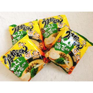 ハウスショクヒン(ハウス食品)のうまかっちゃん からし高菜風味 ラーメン 九州限定(インスタント食品)