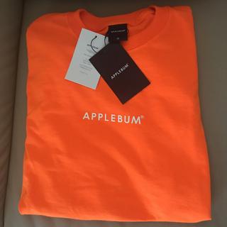 アップルバム(APPLEBUM)のapplebum neon tee オレンジ M(Tシャツ/カットソー(七分/長袖))