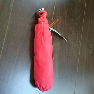 セサミストリート(SESAME STREET)の【新品】セサミストリート  折り畳み傘  50㎝(傘)