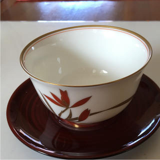 香蘭社湯呑み