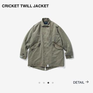 ダブルタップス(W)taps)のdescendant  cricket twill jacket od m(モッズコート)