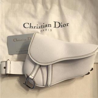 premium selection e8163 5d6e2 Dior サドルバッグ ウエストポーチ 美品