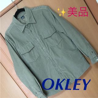 オークリー(Oakley)のOKLEY  コーデュロイ中綿シャツジャケット  ゴルフ(ウエア)