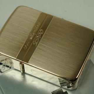 ジッポー(ZIPPO)のZippo 1941 レプリカ・ミラーライン RPK 金ピンクゴールド(タバコグッズ)