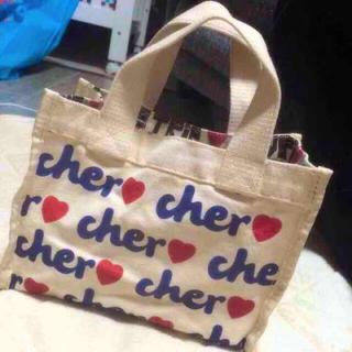 シェル(Cher)のcher LOVETRIP(エコバッグ)