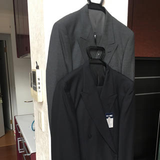新品2着‼️メンズ 春夏処分特価 ダブルスーツまとめて(スラックス/スーツパンツ)