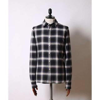 ダブルジェーケー(wjk)のwjk/ombre check wire shirts/s チェックシャツ(シャツ)