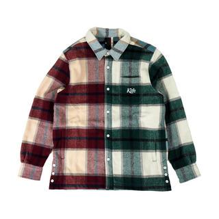 シュプリーム(Supreme)のKITH Plaid Flannel  Shirt mondayprogram(シャツ)