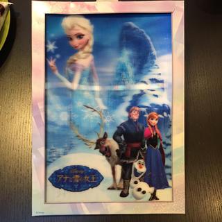 ディズニー(Disney)のDisney アナと雪の女王 3Dポスター(ポスター)