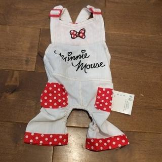 ディズニー(Disney)のミニーオーバーオール ペット服(ペット服/アクセサリー)