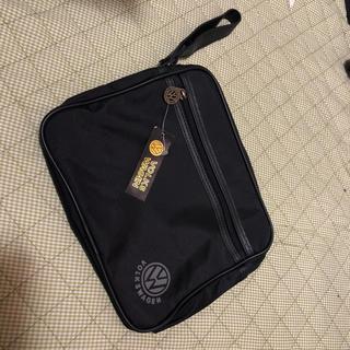 フォルクスワーゲン(Volkswagen)のVW VOLKSWAGEN セカンドポーチ バッグ 未使用 送料無料 (セカンドバッグ/クラッチバッグ)