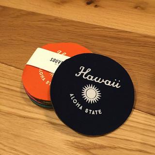 アーバンアウトフィッターズ(Urban Outfitters)の新品未使用 ハワイ購入 コースター(テーブル用品)
