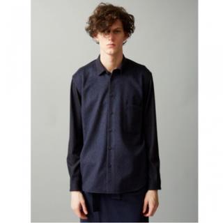 トローヴ(TROVE)のtrove fade shirt サイズ1 ネイビー(シャツ)