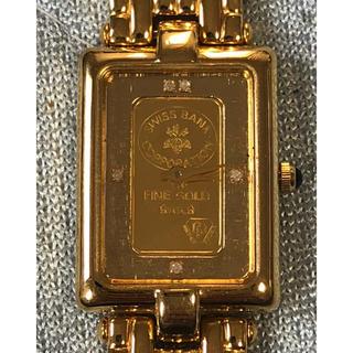 エルジン(ELGIN)のELGIN 純金インゴット入り腕時計(腕時計)