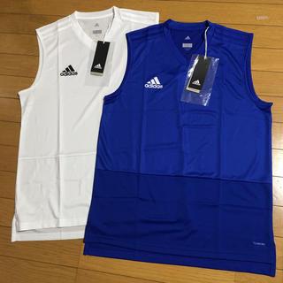 アディダス(adidas)の新品  アディダス 2点 セット タンクトップ(Tシャツ/カットソー(半袖/袖なし))