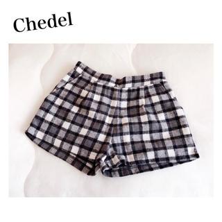 シェデル(Chedel)のChedel チェックショーパン(ショートパンツ)