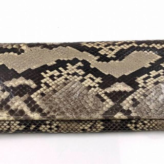 蛇革 長財布(長財布)