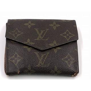 ルイヴィトン(LOUIS VUITTON)のルイヴィトン モノグラム W ホック 財布(折り財布)