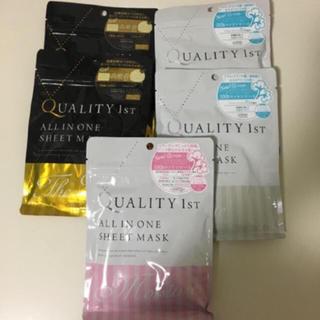 クオリティファースト(QUALITY FIRST)の☆新品☆ クオリティファースト フェイスマスク セット(パック / フェイスマスク)