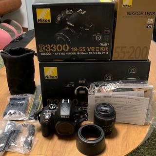 ニコン(Nikon)のNikon 一眼レフ D3300 ダブルレンズ ズームキット(デジタル一眼)