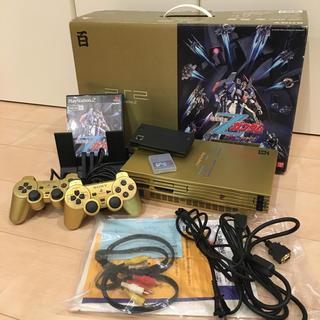 プレイステーション2(PlayStation2)のレア 百式ゴールド PS2 動作確認済(家庭用ゲーム本体)