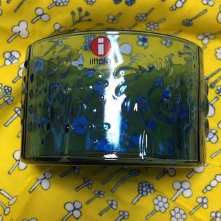 イッタラ(iittala)のFlora ボウル ウルトラマリンブルー 80mm 布付き(食器)