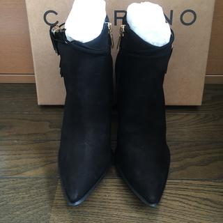カラーノ(CARRANO)のCARRANO 23cmブーツ黒(ブーツ)