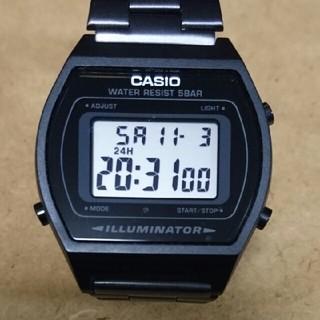 カシオ(CASIO)のカシオ デジタル時計 B640W(腕時計(デジタル))