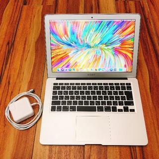 マック(Mac (Apple))の【送料込み/美品】MacBook Air 13インチ 2013(ノートPC)