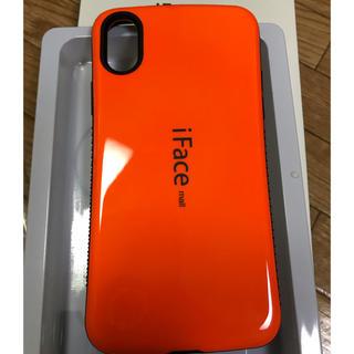 e13b6ca170 iFace mall iPhoneXハードケース オレンジ(iPhoneケース)
