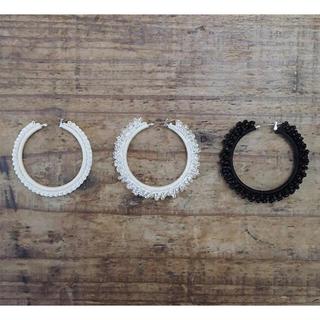 ヤエカ(YAECA)のhariknitting circle pierce(ピアス)