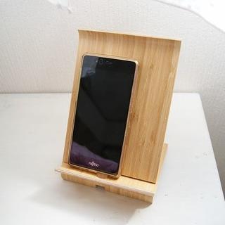 イケア(IKEA)の美品 IKEA スマホスタンド SIGFINN 木製 タブレット (その他)