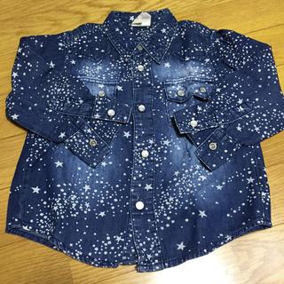 ドンキージョシー(Donkey Jossy)の95cm星柄デニムシャツ(Tシャツ/カットソー)