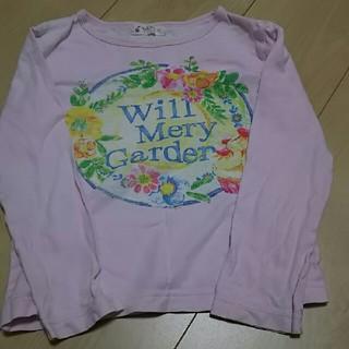 ウィルメリー(WILL MERY)のウィルメリー  長袖Tシャツ 120センチ  日本製  難あり(Tシャツ/カットソー)