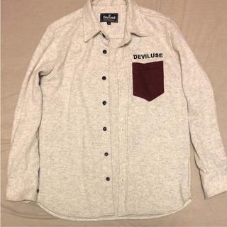 デビルユース(Deviluse)のDeviluse ウールシャツ(シャツ)