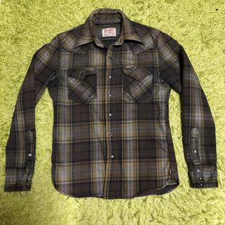 バックボーン(BACKBONE)のBACKBONE wrangler ウエスタンネルシャツ(シャツ)