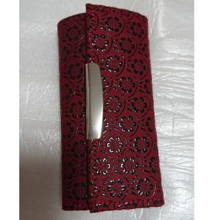 インデンヤ(印傳屋)の未使用品 印傳屋の4連キーケース 赤色(キーケース)