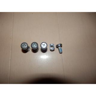 バートン(BURTON)の部品★BURTON バートン★アンクルスライダー用ビスセット銀(バインディング)